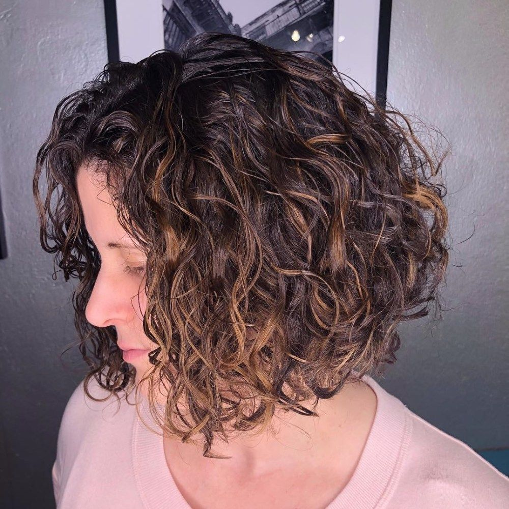 65 different versions of curly bob hairstyle in 2019 | short