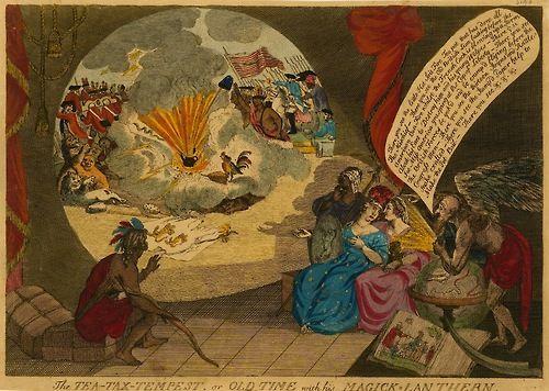 Tea-Tax-Tempest, 1778.