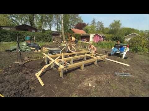 Gartenhaus Punktfundament YouTube Gartenhaus, Garten