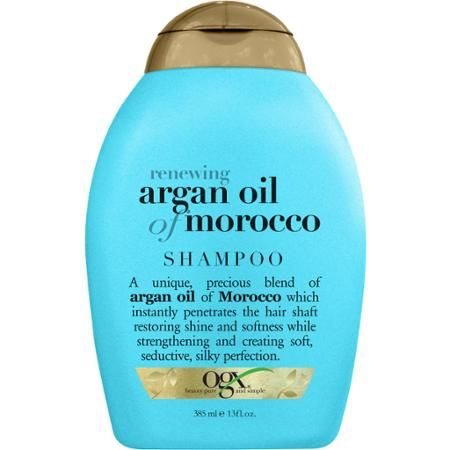 Ogx Renewing Moroccan Argan Oil Shampoo 13 Oz Walmart Com With