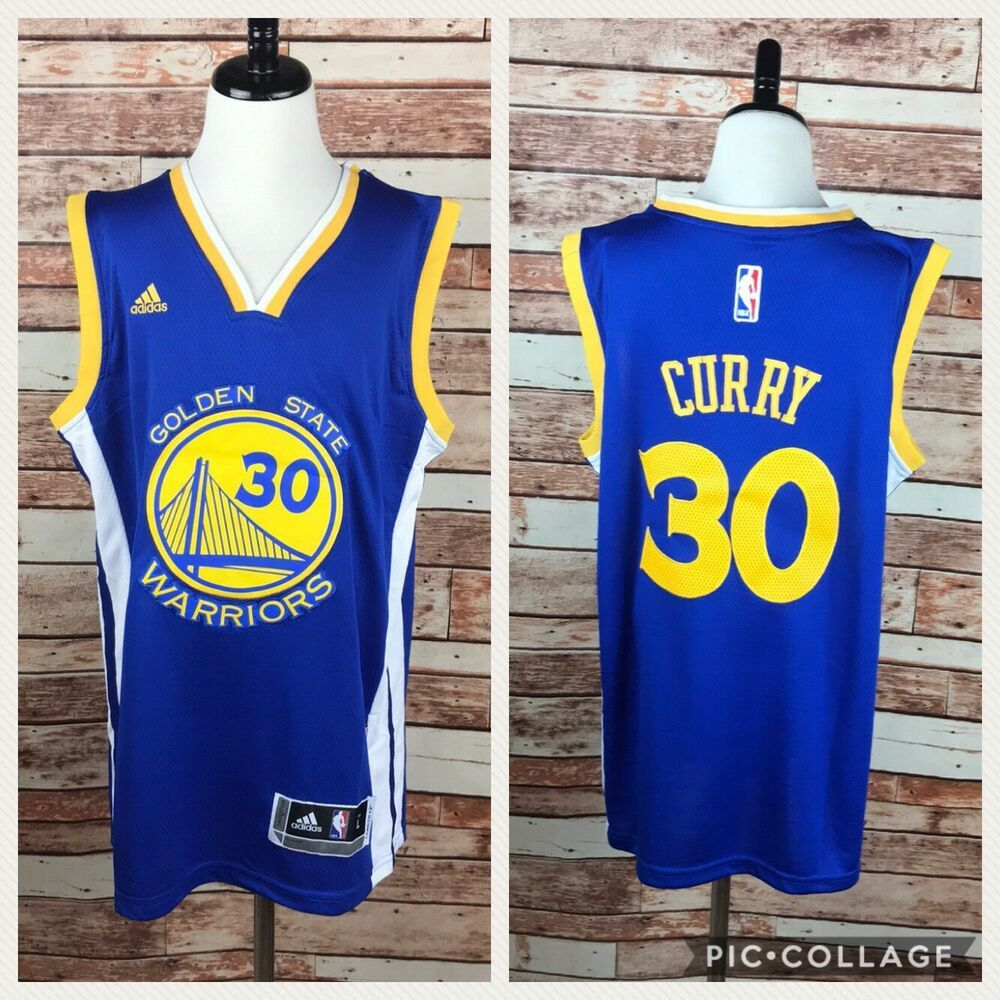 quality design 7243b 180f3 Adidas NBA Stephen Curry Swingman Replica Youth Jersey ...