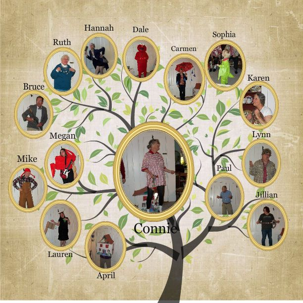 Know your roots. Create a Family Tree with MyScrapNook.com ...