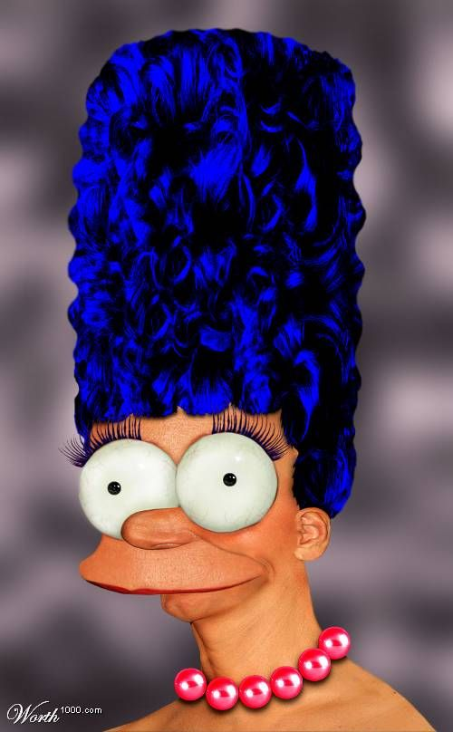 The Real Marge Simpson