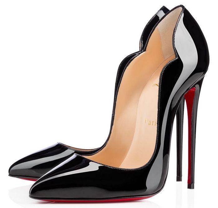 chaussure louboutin femme noir