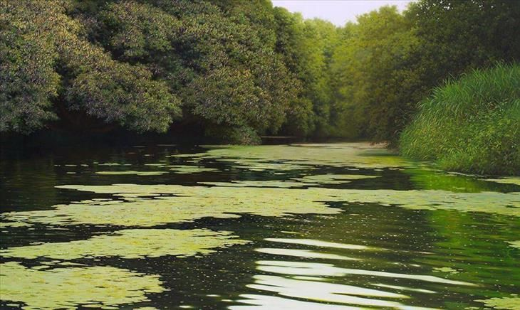 Mind Blowing Hyper Realistic Oil Paintings Of Nature Nature Paintings Landscape Paintings Landscape Photography
