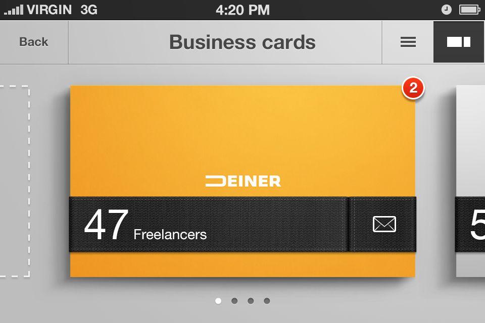 Business card organizer iphone app concept designer erik deiner business card organizer iphone app concept designer erik deiner colourmoves