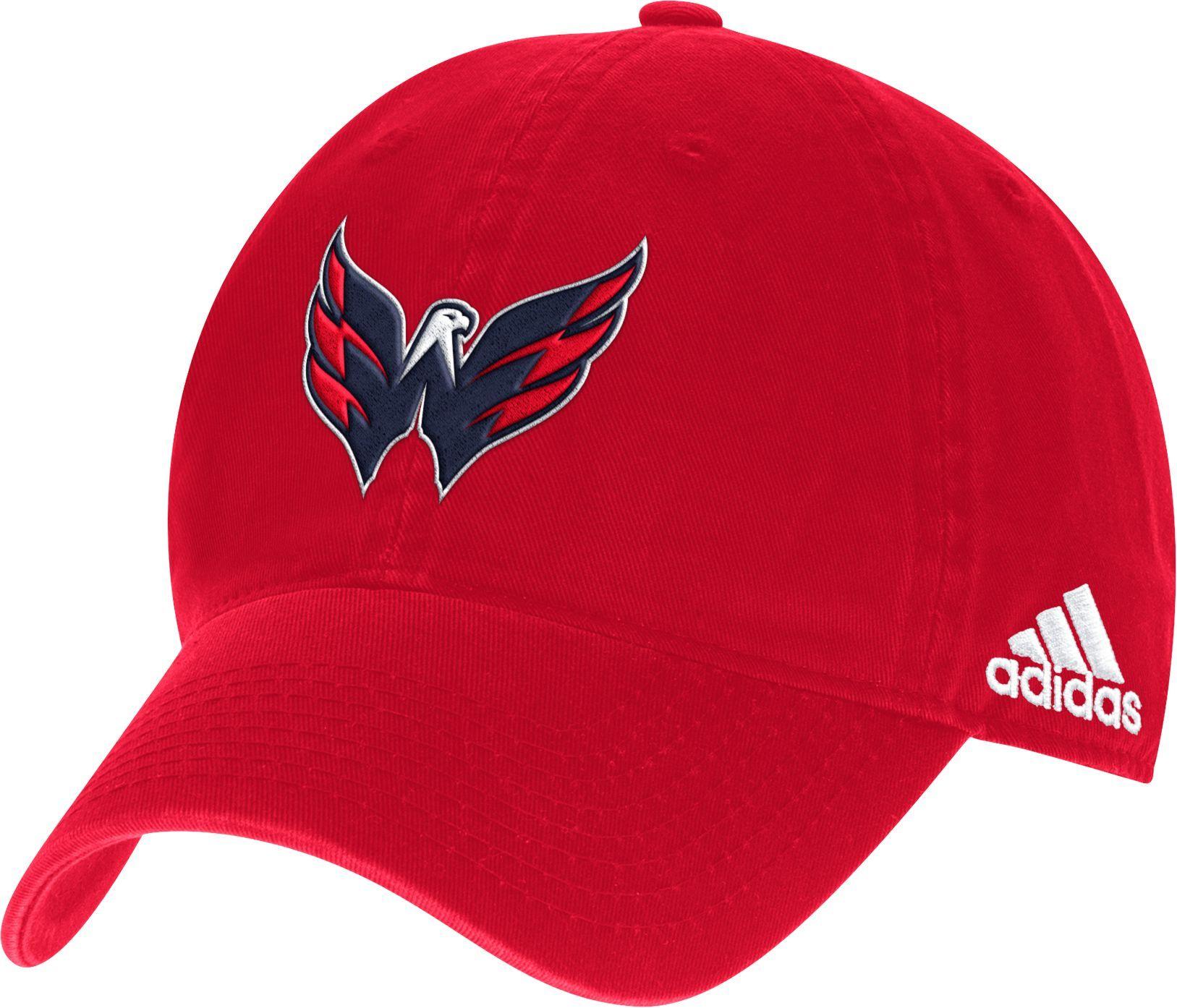 adidas Men s Washington Capitals Secondary Logo Royal Slouch Adjustable Hat 22693c200