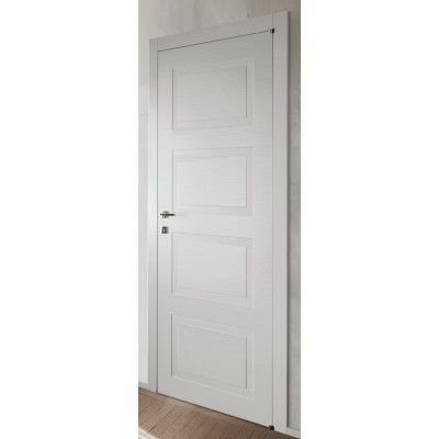 Porte interne laccata pantograta spazzolata quadra liberty - Porte con bugne ...