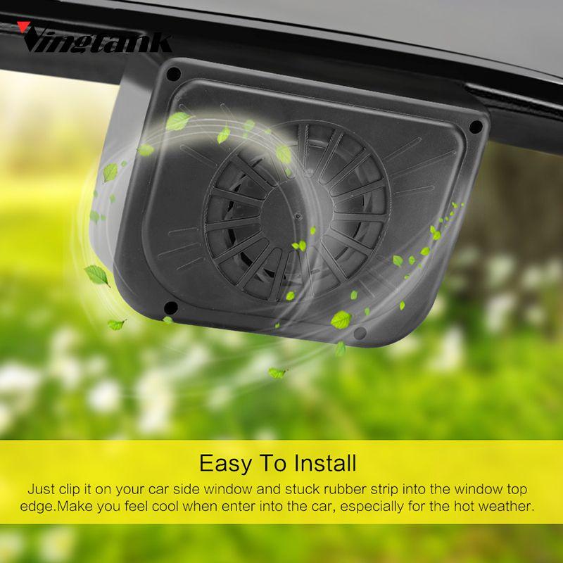 Vingtank New Car Style Cooling Radiator Fan Fan Cool New Solar