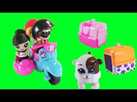 Gift 'Ems Scooter And Pet Friends Surprise Blind Bags Toys - YouTube