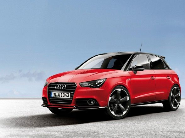 2012 Audi A1 Amplified The Interior Is Enhanced By A Black Roof