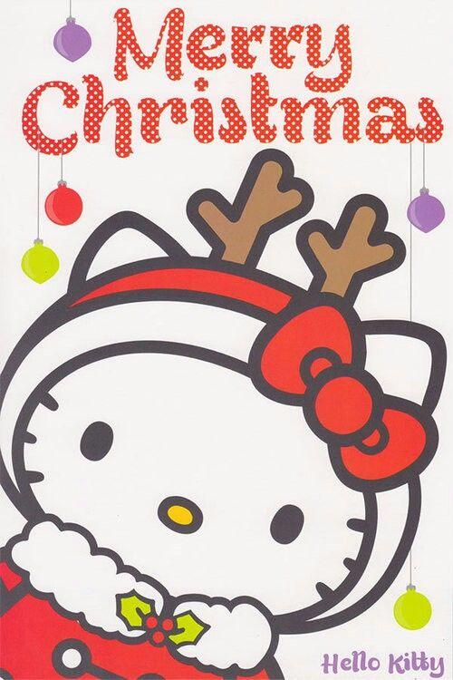 Christmas Reindeer Hello Kitty