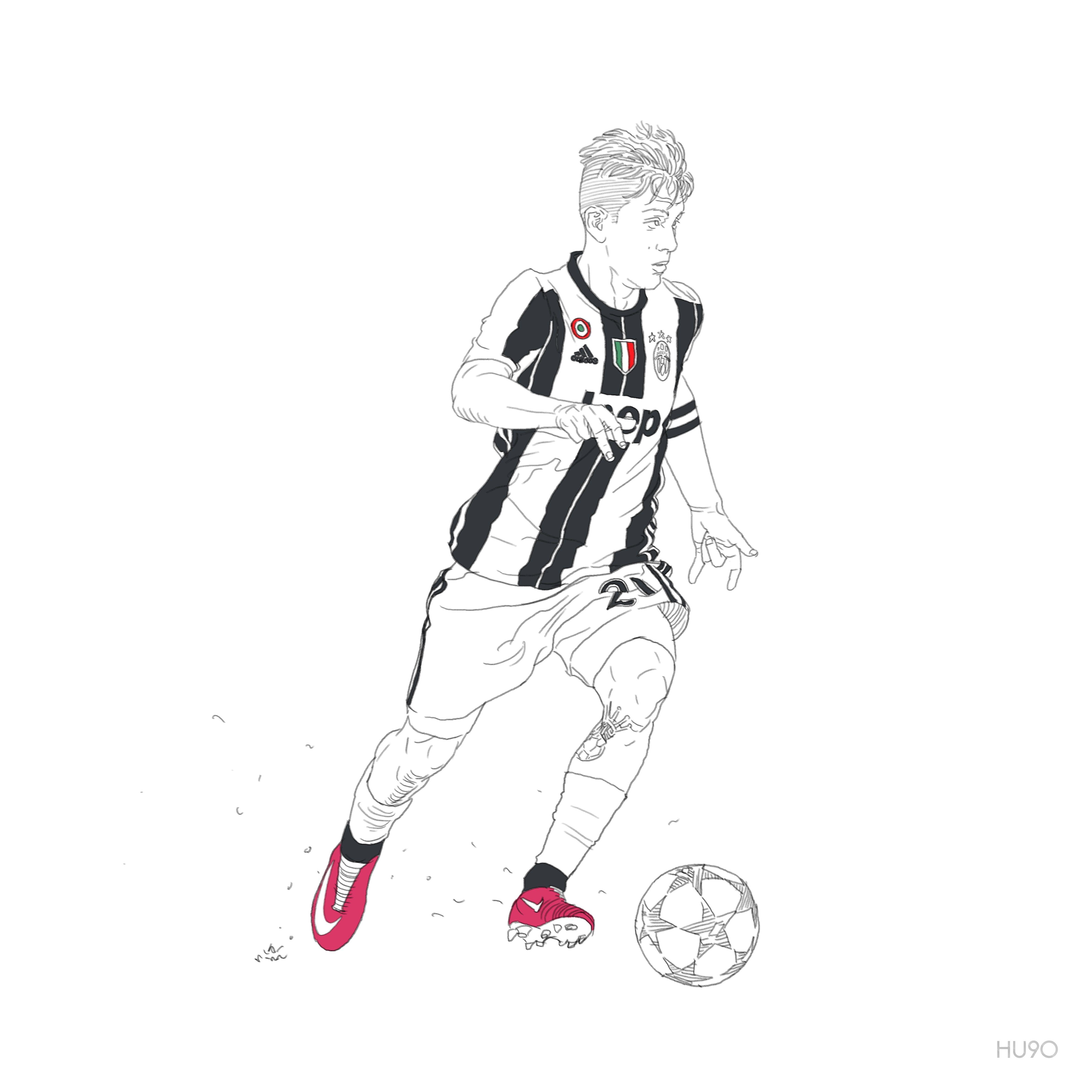 Paulo Dybala Juventus 축구 초능력 스포츠