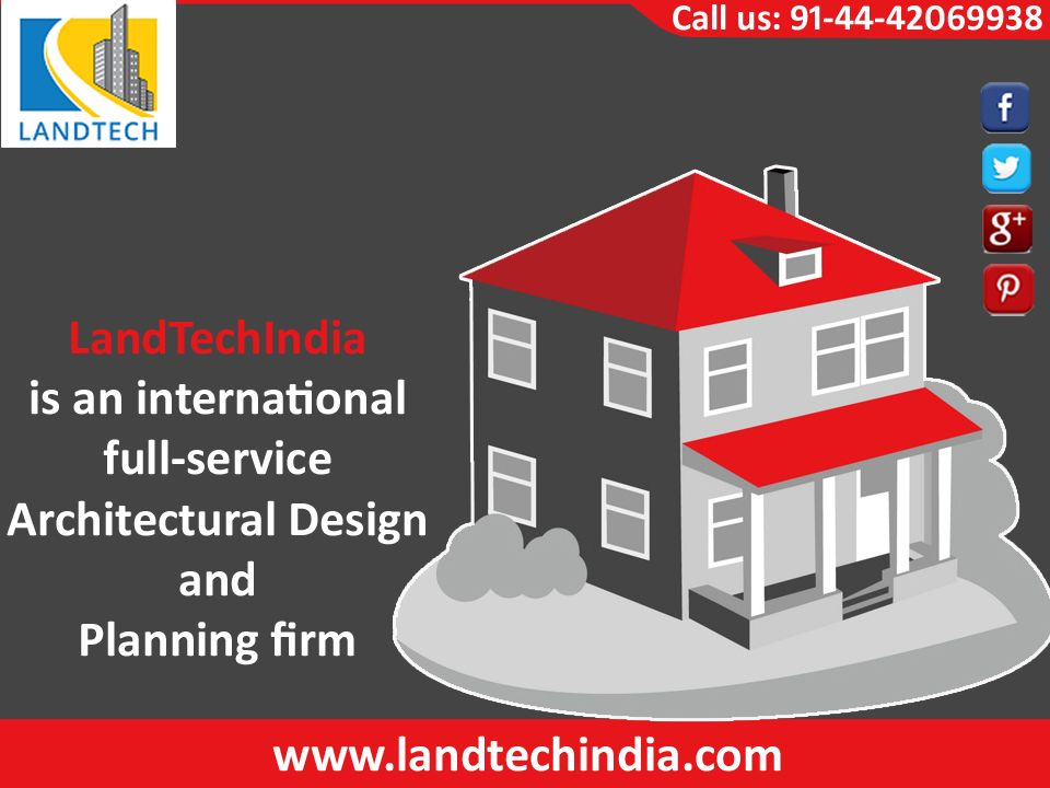 landtechindia offering building planning service in chennai