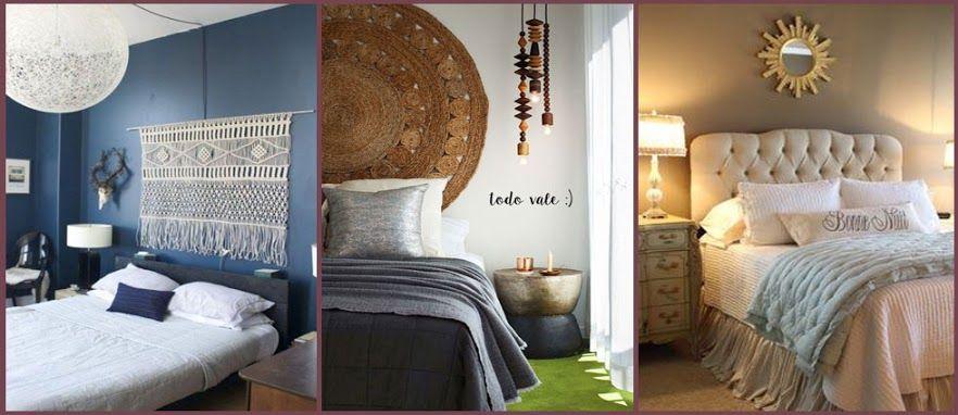 Infinidad de ideas de cabeceros de cama para tu dormitorio. http://goo.gl/XgX7bZ lacasadepinturas.com: Google+