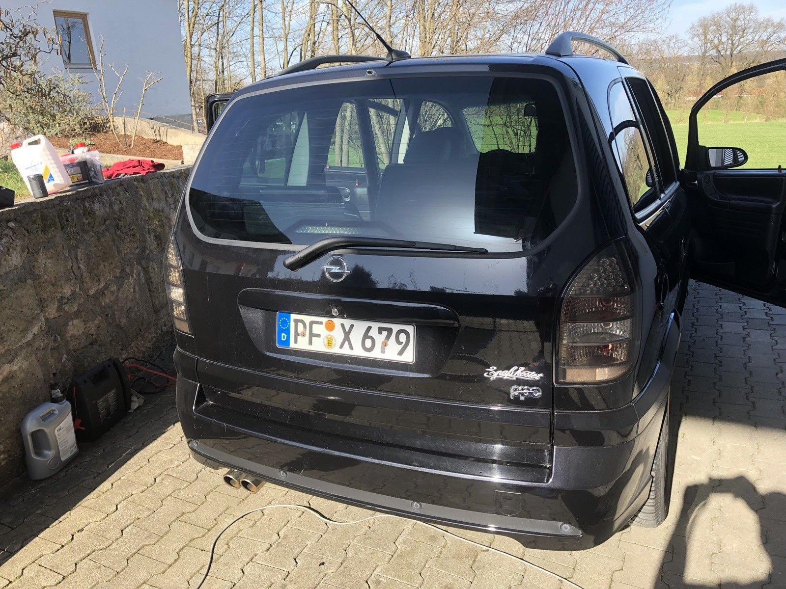 Ebay De Mobiles Gunstiger Opel Zafira A Opc Abonnenten