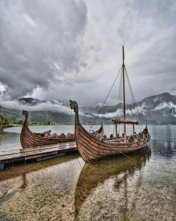 Pin By Sharon Duchaine On Mythology Viking Ship Boat Viking Life