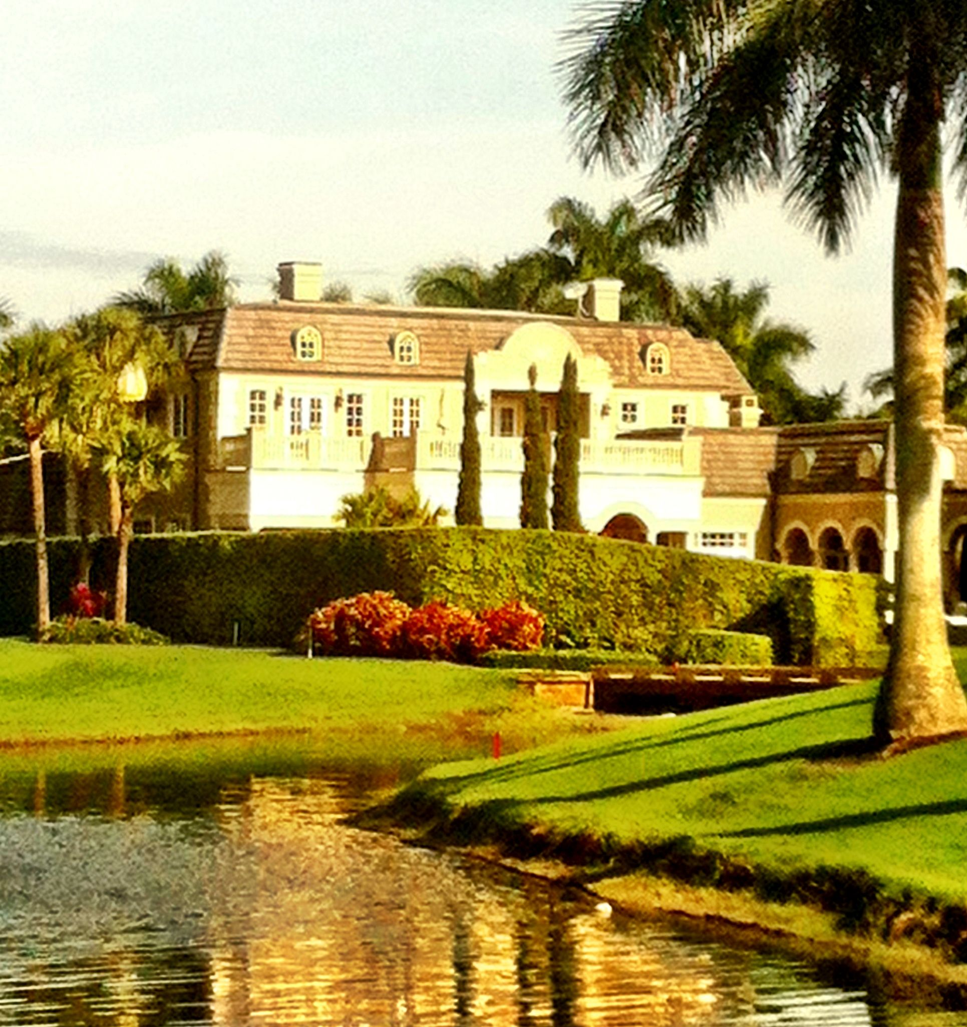 Day 22 - a French chateau in Florida.
