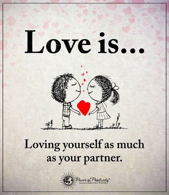 Attractive Love Is Loving Yourself As Much As Your Partner   Love Quotes