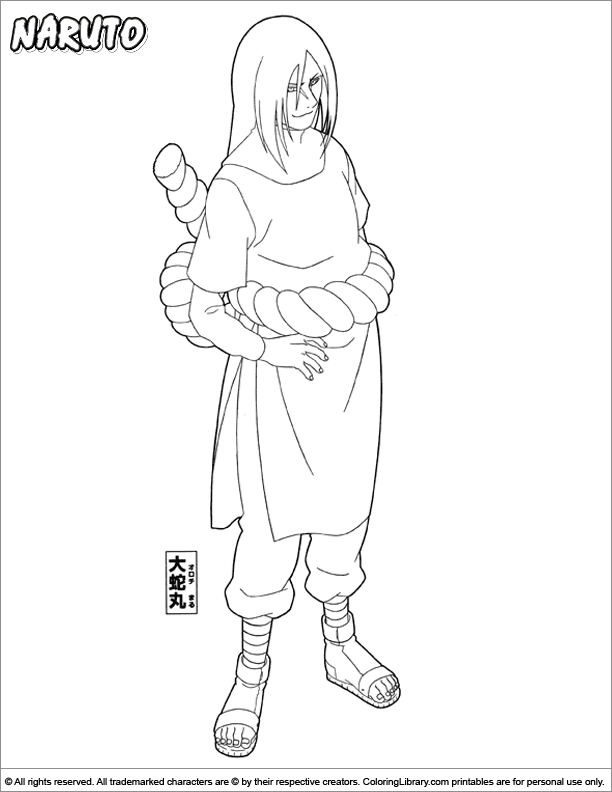 Naruto Coloring Page In 2020 Naruto Drawings Coloring Pages Disney Coloring Pages