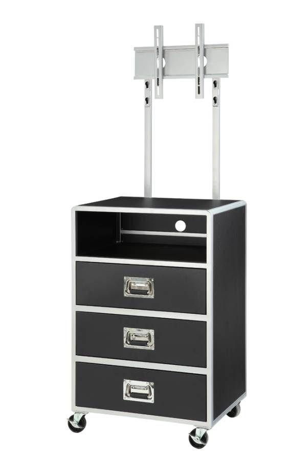 Leclair Youth Bed Collection Contemporary Black Chest