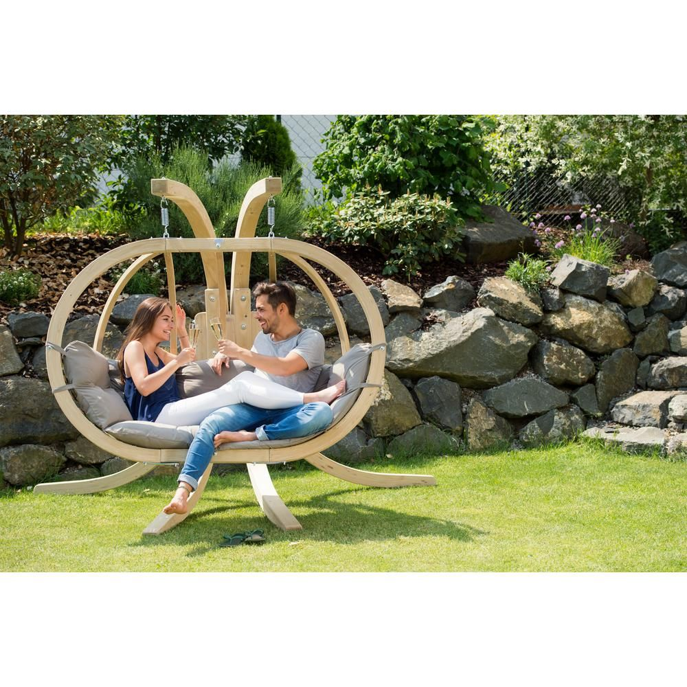 Byer of maine globo chair royal two person laminated