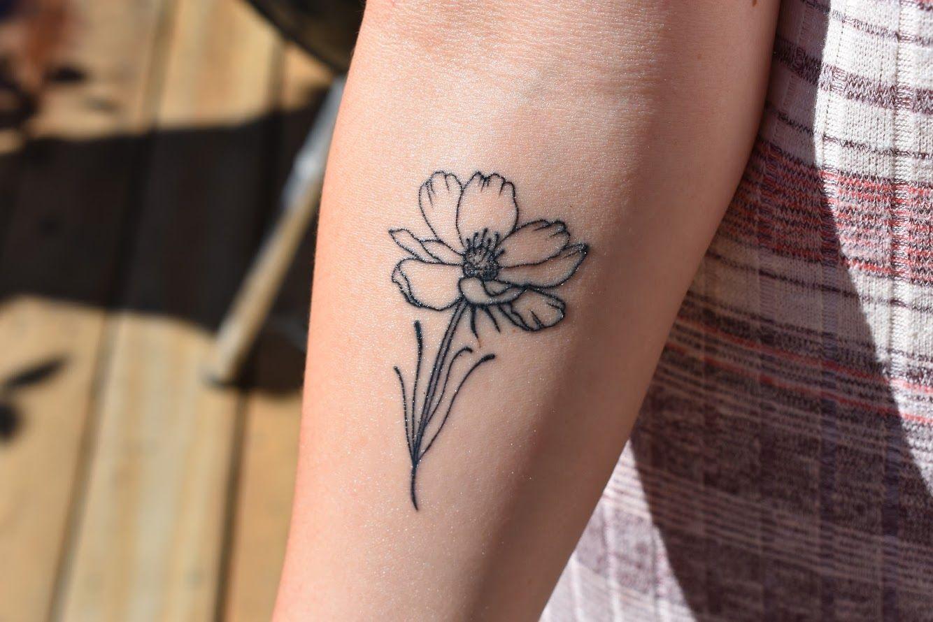 Tattoos Tattoos Cosmos Tattoo Flower Tattoo Designs