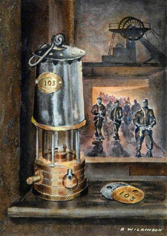 Your Paintings The Last Shift Art Uk Coal Mining Art
