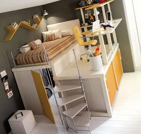 Habitaciones Pequenas Aprovechar Espacio