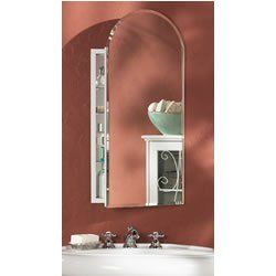 Broan Nutone 52wh244pa 1 2 Inch Metro Arch Beveled Mirror By Broan Nutone 314 99 From The Manu Beveled Mirror Medicine Cabinet Mirror Contemporary Bathrooms