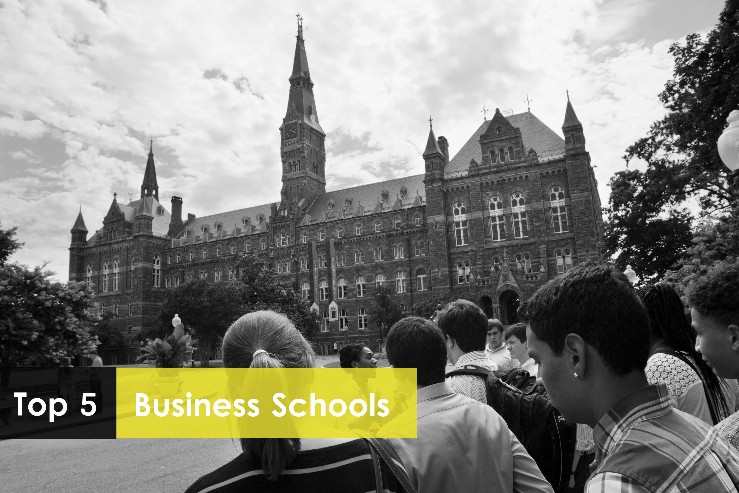 TOP 5 BUSINESS SCHOOLS IN USA College rankings