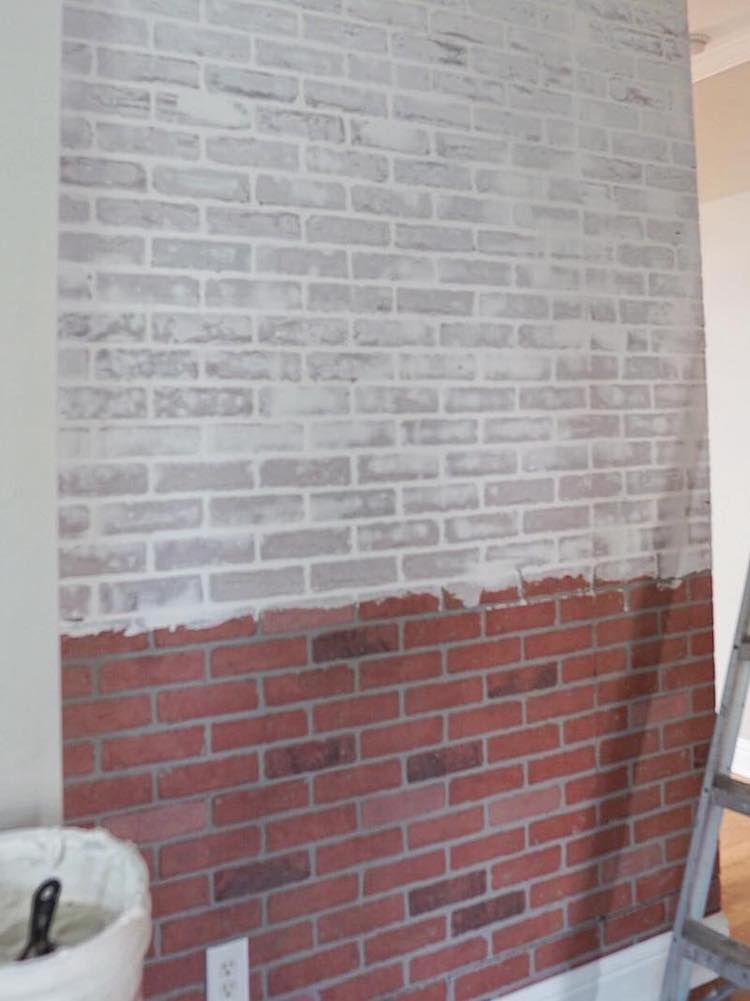 35+ Faux whitewashed brick wall panels ideas in 2021