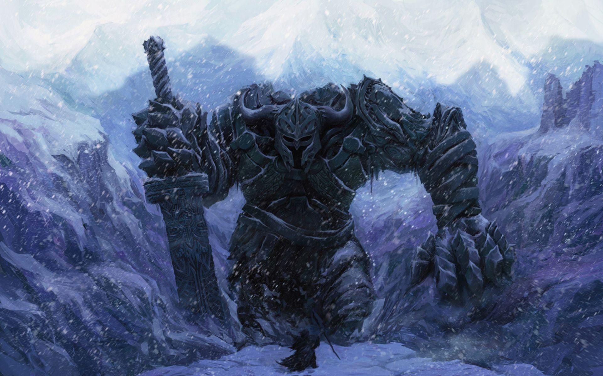 Summon Warriors Wallpaper Fantasy Warrior Giant Skeleton Fantasy giants wallpapers fantasy