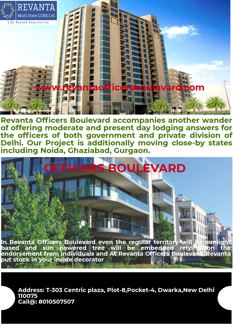 Revanta Officers Boulevard Is Built With Connectivity And Location