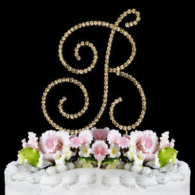 renaissance monogram cake topper gold large letter b read more reviews of the product by visiting the link on the image