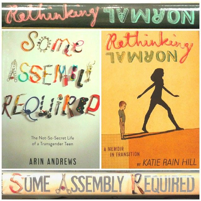Speaking of awesome new books, check out the memoirs of an incredible transgender teen couple- released in tandem today by @simonschuster