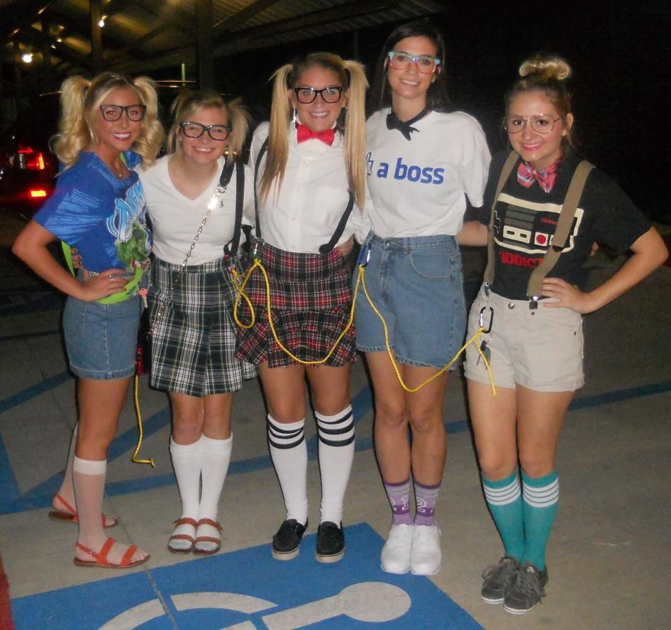 How to dress like a nerd Homemade Nerd Costume Idea Halloween ...