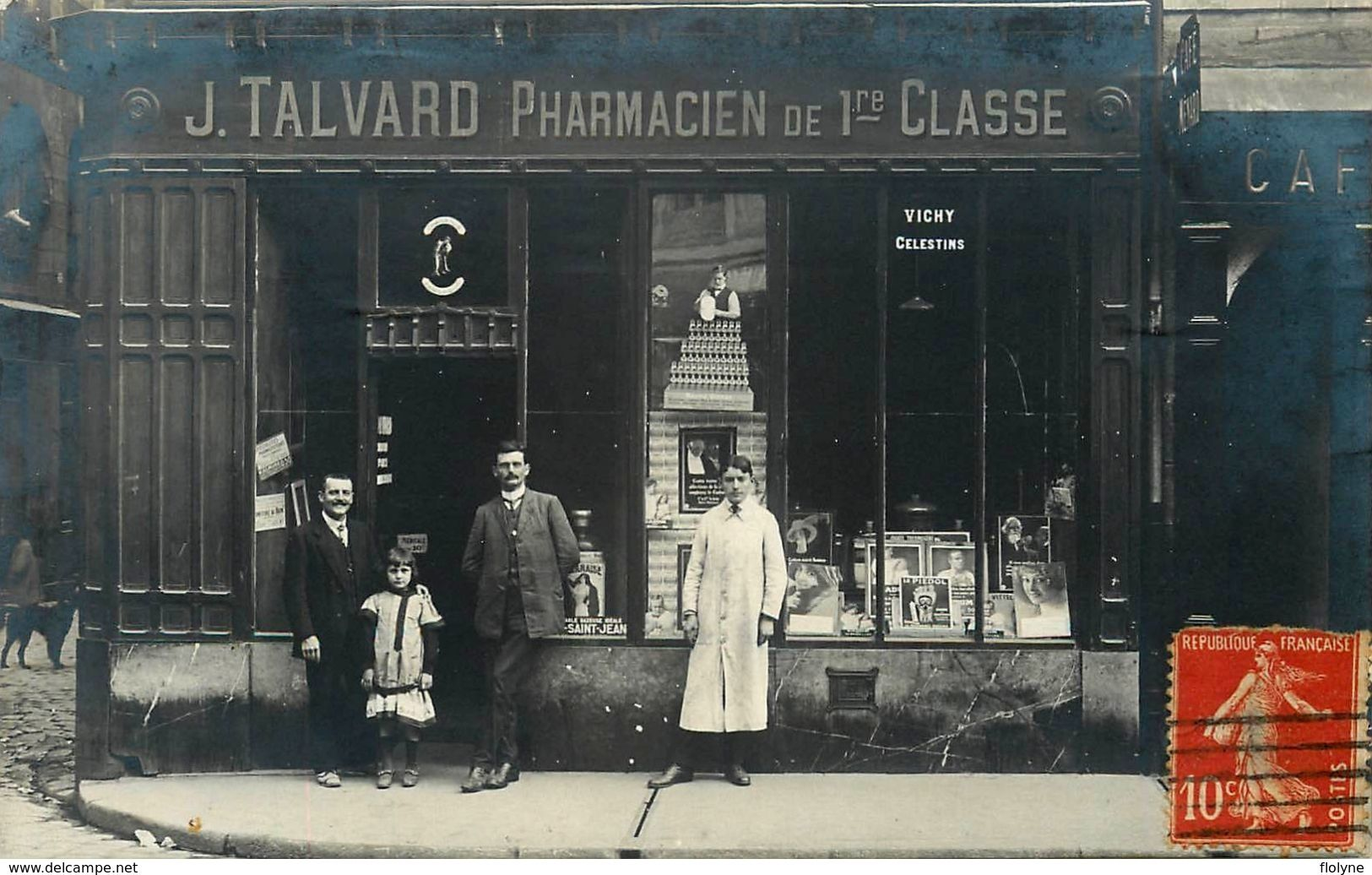 Pharmacie Terrasse Du Port Nantes Devanture Commerce Magasin