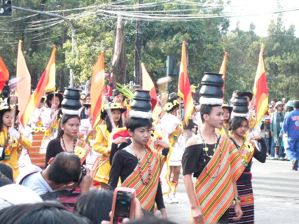 How the people in Baguio City or Province of Benguet