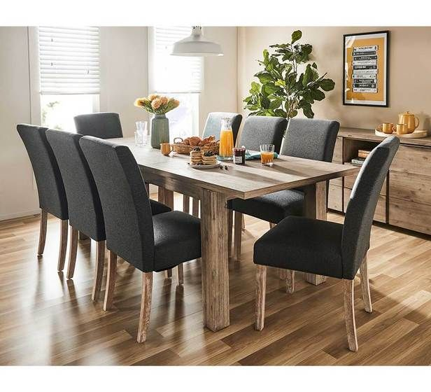 Toronto 9 Piece Extension Dining Set With Parker Chairs With