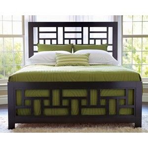 Elegant Perspectives California King Lattice Headboard U0026 Footboard Bed By Broyhill  Furniture   Wolf Furniture   Headboard