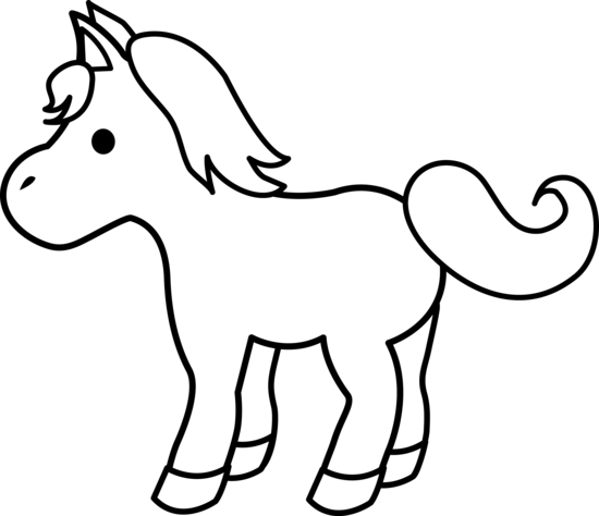 39+ Horse clipart black and white easy ideas in 2021