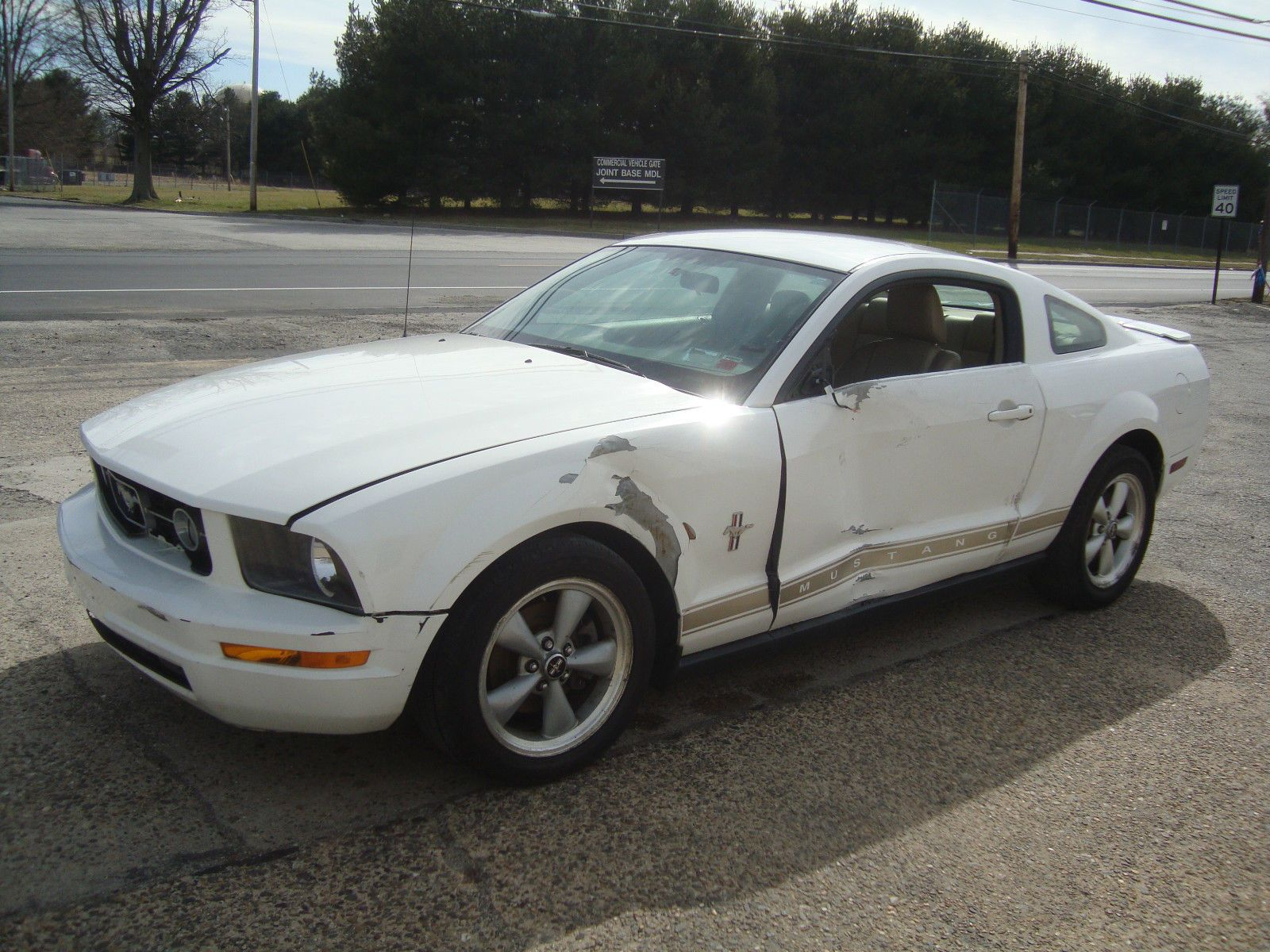 2007 ford mustang v6 shaker500 salvage rebuildable