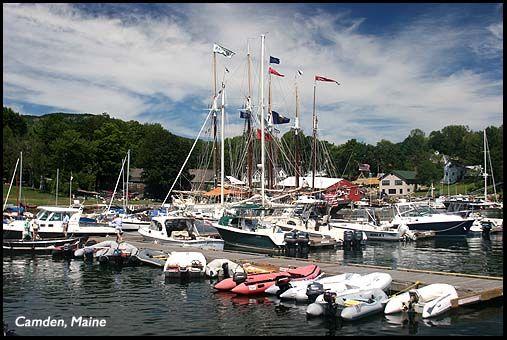 Camden Maine. Great little seaside village.