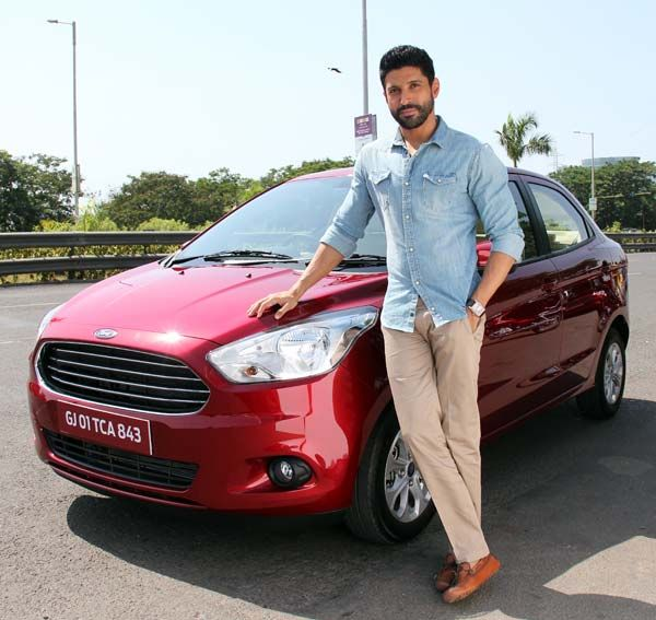 Ford Figo Aspire Sedan India Launch in August; @FarOutAkhtar Farhan Akhtar Becomes Brand Ambassador http://www.carblogindia.com/ford-figo-concept-compact-sedan-india-photos-details/