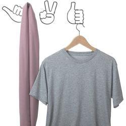 Umbra Garderobenhaken Handy (L x B x H: 11 x 3 x 16 cm, Anzahl Haken: 2 Stk., Titan) UmbraUmbra #hochzeitskleiderhäkeln