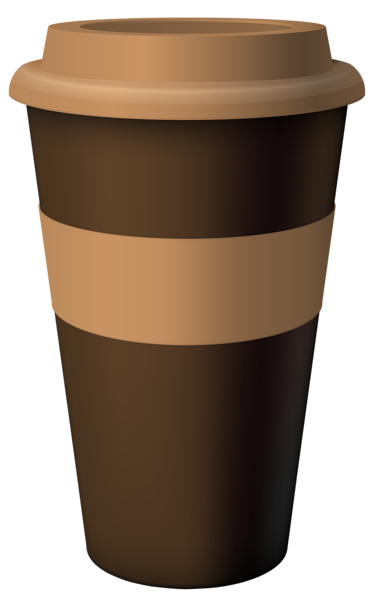 Brown Hot Coffee Cup PNG Clipart Image | Cafe cup, Coffee ...