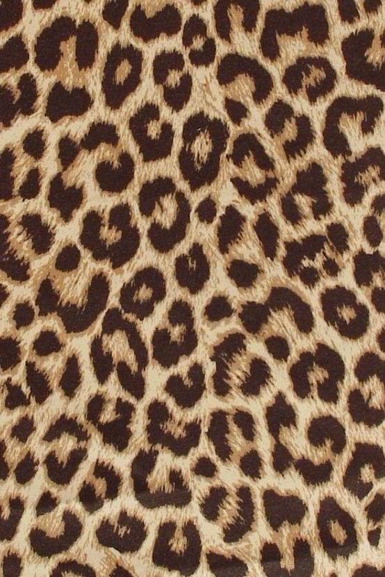 Leopard Print Animalier Leopard Jungle Fashion Maculato