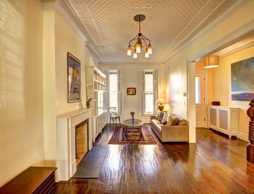 Houzz.com · Narrow Living RoomLong ...