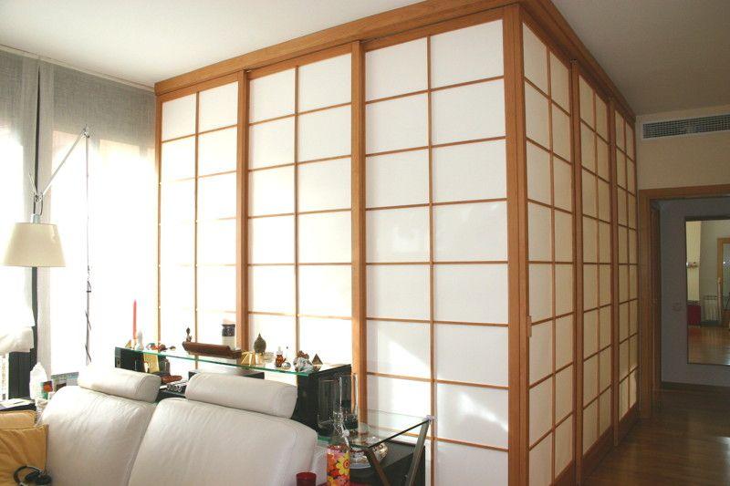 Se denomina shoji a un tipo de puerta tradicional en la for Puertas de madera para cuartos